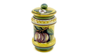 Gialletti & Pimpinelli Fruit on Yellow Small Canister