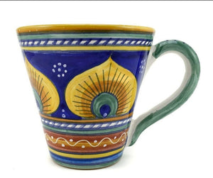 Sberna Geometric Pavone Conical Mug