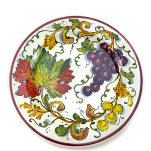 Borgioli - Grapes Dinner Plate