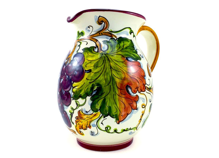 Borgioli Grapes Pitcher - 1Lt (34 fl oz)