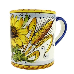 Borgioli - Sunflower on White - Small Mug