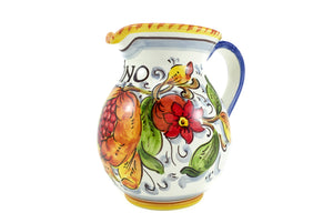 Borgioli - Pomegranates on White - 500ml Pitcher (16.8 fl oz)