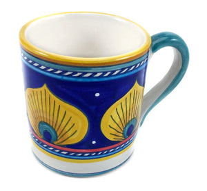 Sberna Geometric Pavone Regular Mug