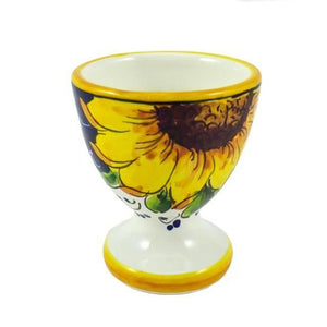Borgioli - Sunflower on Blue - Egg Cup
