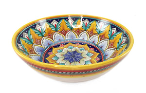 "Sberna Geometric Serving Bowl - Decor X - 25cm (9.8"")"