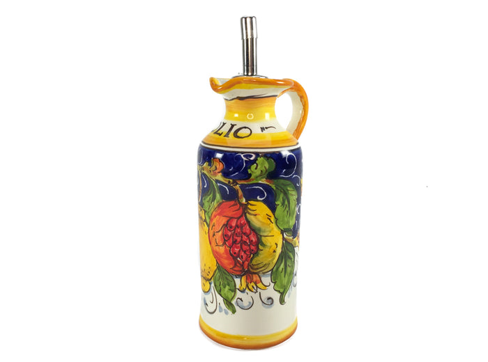"Borgioli - Mixed Fruits Oil Cruet 15cm (5.9"")"