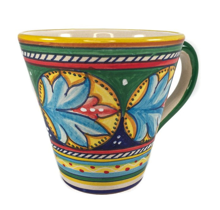 Sberna Geometric Conical Mug