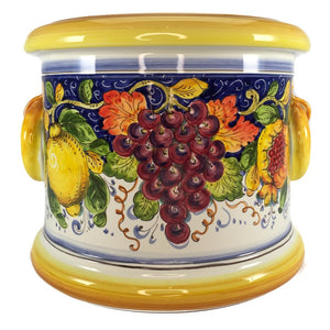 Borgioli Mixed Fruit 35cm Cache Pot-Planter