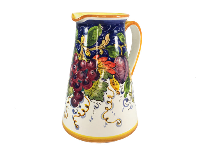 Borgioli - Mixed Fruits Large Conical Pitcher