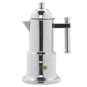 Vev Vigano Kontessa Tubo Stovetop Espresso Maker (3 sizes)