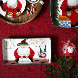 Old Saint Nick Limited Edition Rectangular Platter