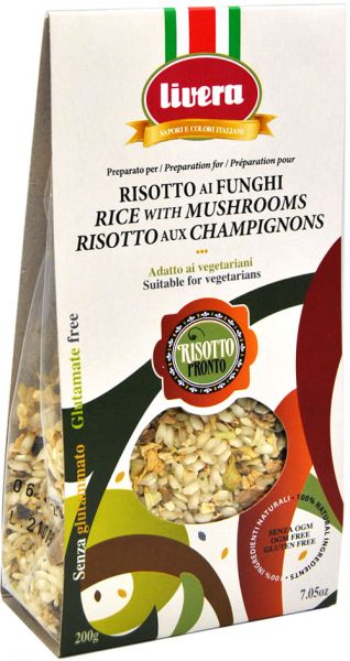 Livera - Risotto with Mushrooms