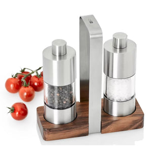 Ad-Hoc Classic Pepper/Salt Mills Set 13cm.