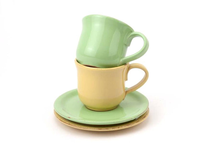 Casa Virginia Tavolozza - Cup and Saucer