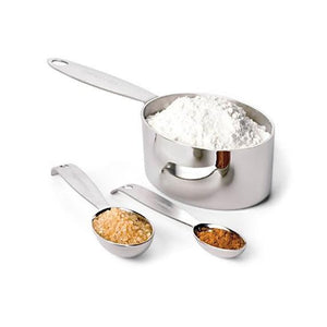 Cuisipro - Heavy Duty Stainless Steel Measuring  Cups