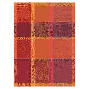 "Garnier Thiebaut ""Mille Wax - Ketchup"" Kitchen Towel"