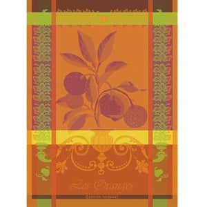 "Garnier Thiebaut ""Les Oranges"" Kitchen Towel"