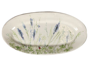 Casa Virginia Prato - Narrow Oval Platter