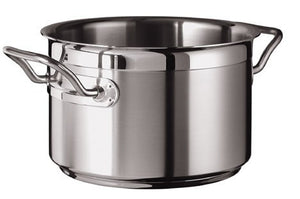 Silga Teknika World's Best Stainless Steel Cookware High Saucepan or Casserole without a lid - 4 litres