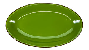 Small Smooth Oval Serving Platter