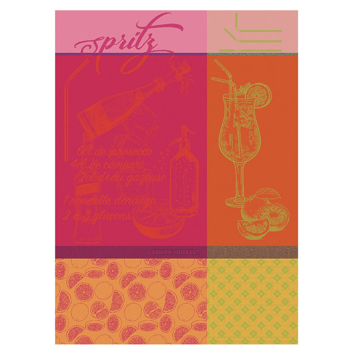"Garnier Thiebaut ""Spritz Rosso"" Kitchen Towel"