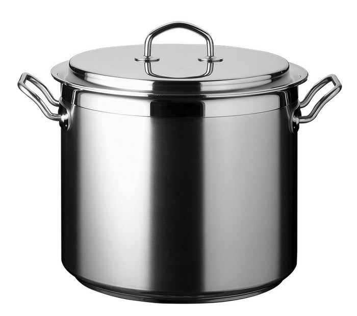 "Silga Teknika 14.5 L (15.2Qt) Stainless Steel Stock Pot 28cm (11"")"