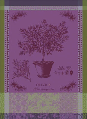 "Garnier Thiebaut ""Olivier en Pot"" Kitchen Towel"