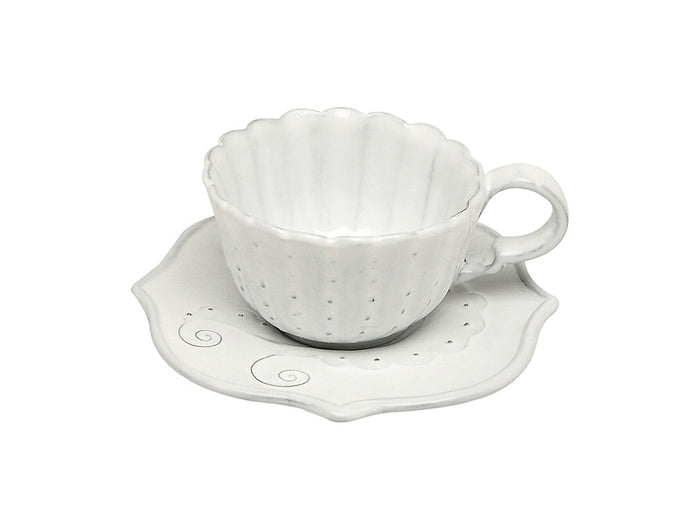 Casa Virginia Italica - Cappuccino or Tea Cup and Saucer