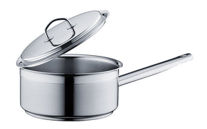 Silga Teknika World's Best Stainless Steel Cookware Saucepan or Casserole with a lid - 2.8 Litres