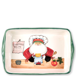 Old Saint Nick Santa Chef Baker