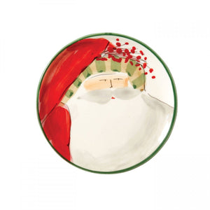 Old Saint Nick Canape Plate
