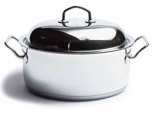 "Silga Teknika 32cm (12.6"") Stainless Steel Oval Roasting Pan"