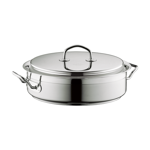 Silga Teknika World's Best Stainless Steel Cookware Saute Pan 24cm