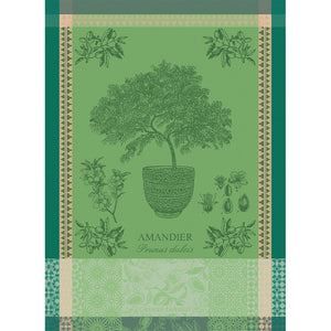 "Garnier Thiebaut ""Amandier en Pot"" Kitchen Towel"