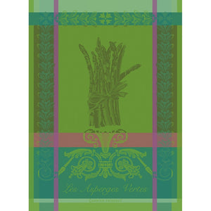 "Garnier Thiebaut ""Asperges Vertes"" Kitchen Towel"