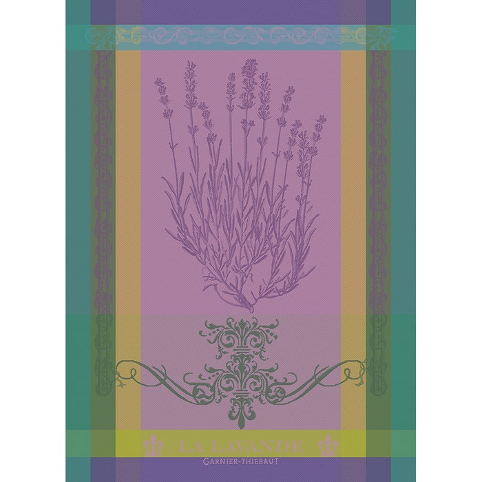 "Garnier Thiebaut ""Lavande Mauve"" Kitchen Towel"