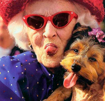 Pets Make Great Companions for the Elderly