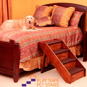 ... XL Dog Stairs For Bed