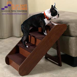 Solvit Large Wood Pupstep Play Safe Pet Stairs