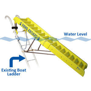 Paws Aboard Doggy Boat Ladder Extension Play Safe Pet Stairs