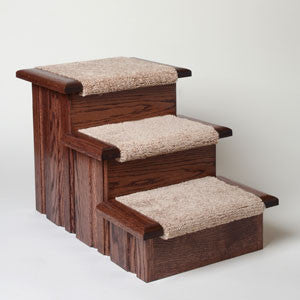 Premier Pet Steps Raised Panel 3-Step Carpet Tread