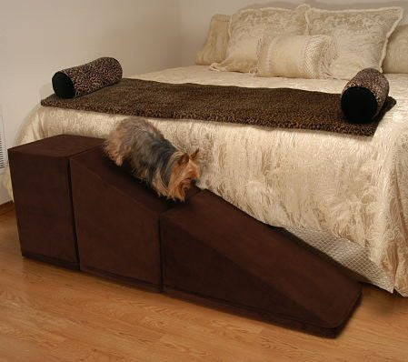 Dog Ramp For Bed >> Dog Ramp for Bed or Car Access – Play Safe Pet Stairs