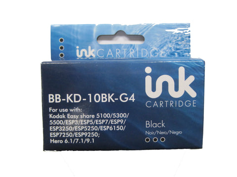 Compatible Kodak 10 Black Ink Cartridge 10B 3949914