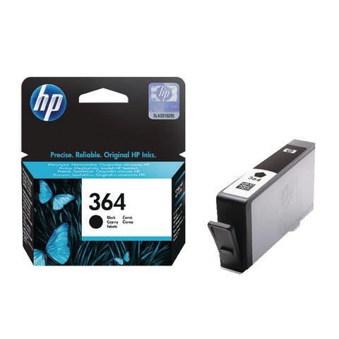 HP 364 Black Ink Cartridge CB316EE