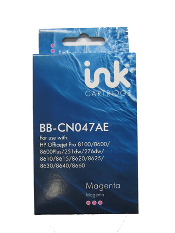Remanufactured HP 951XL Magenta Ink Cartridge CN047AE