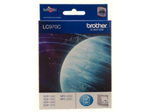 Brother LC970C Cyan Ink Cartridge
