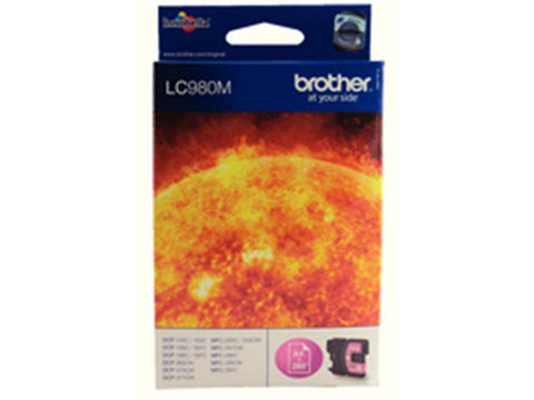 Brother LC980M Magenta Ink Cartridge
