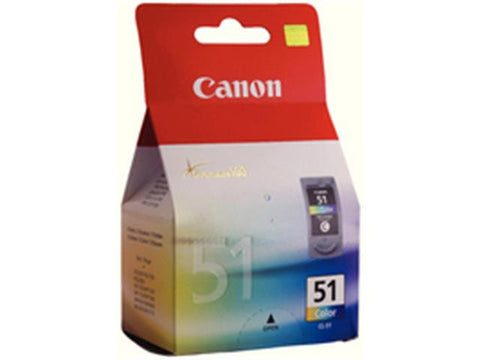 Canon CL-51 Colour Ink Cartridge 0618B001