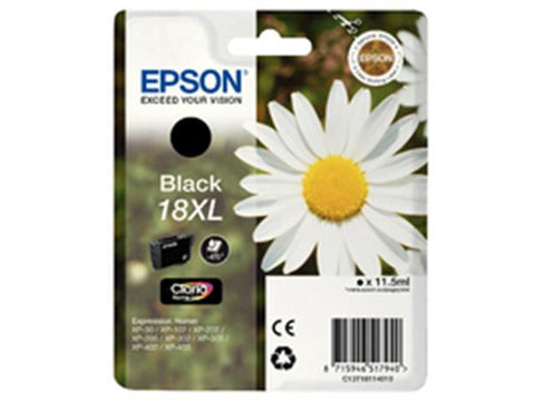 Epson 18XL T1811 Black Ink Cartridge Daisy C13T18114010
