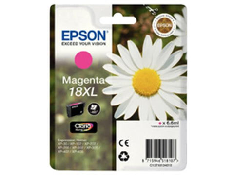 Epson 18XL T1813 Magenta Ink Cartridge Daisy C13T18134010
